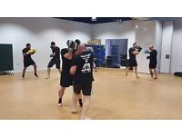 Muay Thai Boxing and Kettlebell classes in Langley at East Berkshire College Absolutely Fitness Gym
