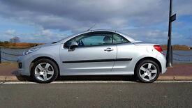 Peugeot 207 CC 2011 61 plate 37k hpi clear 12 months mot