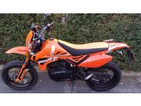 PULSE ADRENALINE ONLY 7800 MILES FROM NEW WITH FULL M.O.T