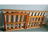 Toddler wooden bed