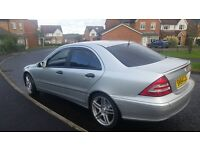 mercedes c220 cdi AUTO 54 reg totally stunning throughout full service history massive spec car