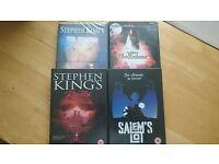 Stephen King. 4 DVDs.