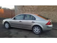 ford mondeo 1.8 lx 2005 54 reg very good car no rust taxed and mot and insured excellent mechanics.