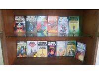 13 Michael Moorcock Sci-fi paperbacks
