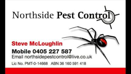 End of Lease Pest Control $60 to $120
