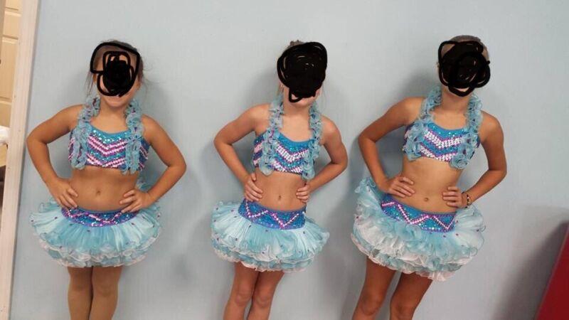 Glamour Dance Costume, Musical Theater , Jazz, Dress Up Child Medium