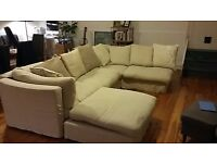Extremely comfortable John Lewis six-seater corner sofa for only £300 (ONO)