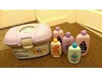 All brand new Johnson's baby toiletries bundle