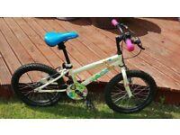 "Child's 18"" Apollo woodland bike immaculate"