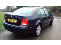 VW BORA 2.0 TIDY CAR WITH MOT AND SERVICE HISTORY