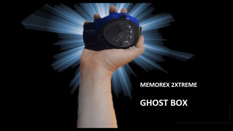"Memorex 2Xtreme  """"Ghost Box"""", Hacked by Time Lord  ITC"