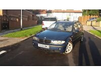 bmw 320d touring drives perfect nice condition full leather 695 o.n.o.