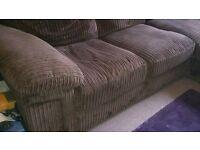 L-Shaped Sofa (incl. sofa bed) Originally Cargo