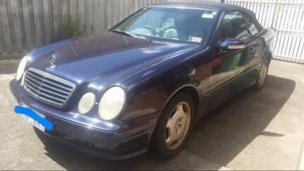 2001 Mercedes-Benz CLK230 Coupe South Yarra Stonnington Area Preview