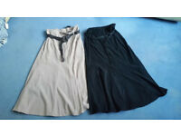 Two ladies long skirts size 12 from BHS