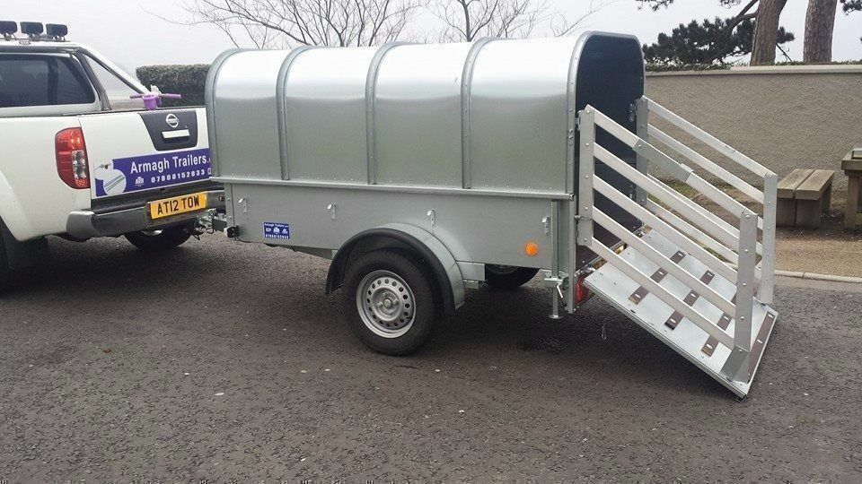 7x4 LIVESTOCK TRAILERS WITH GATES