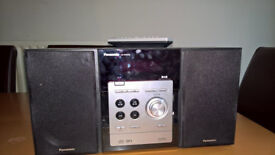 Panasonic mini system DAB radio and cd player
