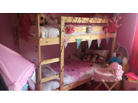 Bunk Beds & 2 Matresses ( LIKE NEW )