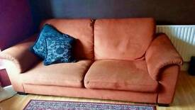 Ikea Three-seat sofa TIDAFORS terracotta