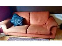 Ikea Three-seat sofa TIDAFORS terracotta