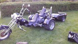 Boom Trike (project) VW 1600 twinport