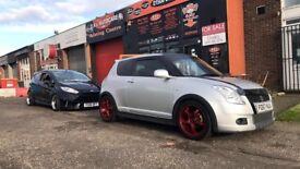Suzuki Swift Attitude, Cat C, Full year MOT, 4 brand new tyres and freshly powder coated wheels.
