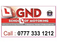 Car Driving Lessons by Approved Driving Instructor/ Theory and Practical/ Leicester/ Motor/ English