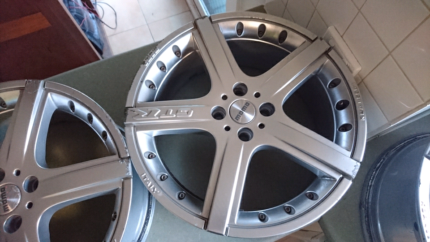 A set of 17 inch rims