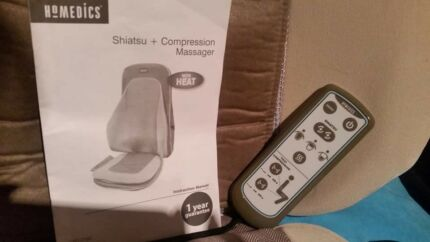 Homedics Shiatsu + Compression Massager seat with heat