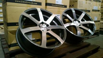 """G.MAX 19"""" Illusion Concave Staggered Wheel + Tyre Package Maddington Gosnells Area Preview"""