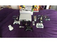 Xbox 360 with Kinect, 49 games and accessories,sensible offers considered