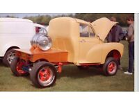 1968 Morris minor hot rod custom gasser pickup