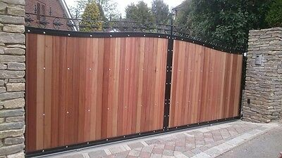 HARD WOOD INFILL GATES MADE BY ENGLISH CRAFTSMEN QUALITY PRODUCT