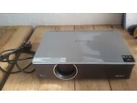 SONY VPL-CX100 projector, 2700 ANSI lumens, non-smoker, w power cable