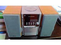 Hitachi AX-M80 Micro Hi-Fi CD/Tape/Radio Player