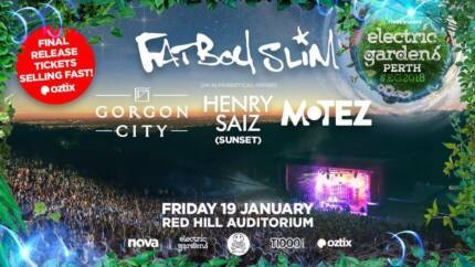 Electric Gardens Perth tickets