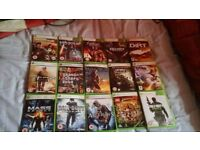 Xbox 360 with 36 games +extras