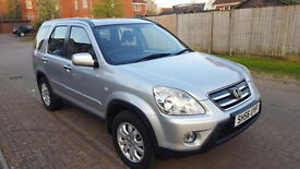 56 PLATE HONDA CR-V MK2 FACELIFT 2.2 CDTI SPORT 4x4 STATION WAGON, 102K GUARENTEED MILAGE,