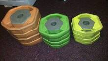 Pump Weight Plates for Body Pump Barbell 35KG Belrose Warringah Area Preview