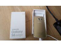 Samsung S6 edge 32gb gold unlocked no offers please