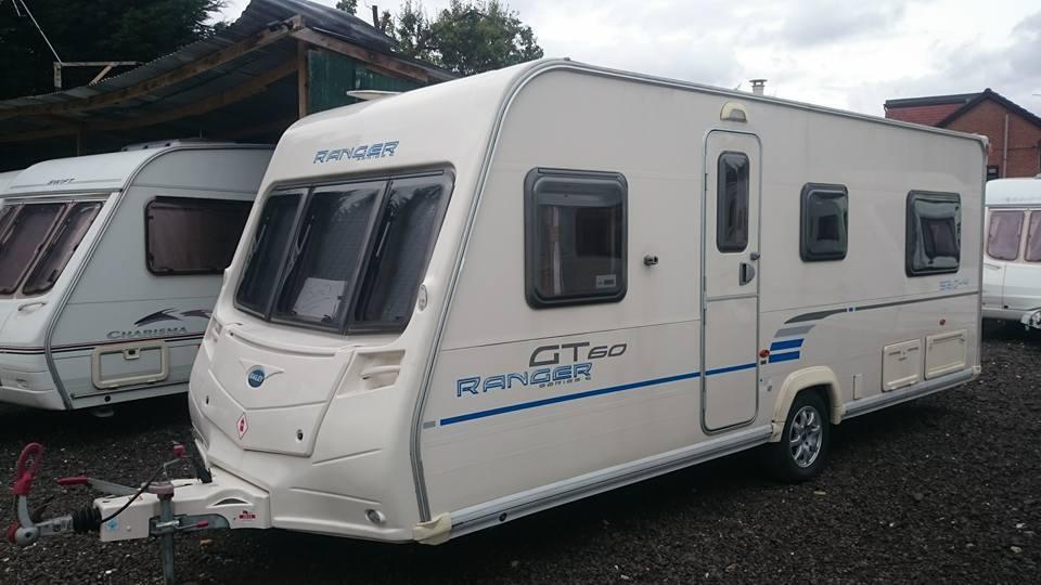 Bailey Ranger Gt60 520 4 4 Berth Caravan Vgc Motor Mover