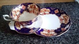 A selection of fine bone china. Royal Albert, Stanley and Colclough.