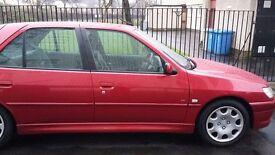 Peugeot 306, 1.6 automatic, 2000 (x), £550