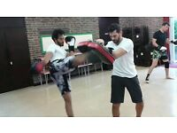 Muay Thai Boxing roup and private classes in London,Fulham