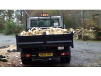 100% seasoned hardwood logs from North East Tree Specialists