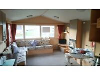Pre-owned caravan for sale, Eyemouth holiday park, Premium park with Sea views and Beach acess