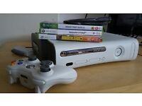 Microsoft Xbox 360 Pro 60 GB White Console with 11 games
