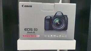 Store Sale - Canon 5D Mark IV WITH 24-70mm Lens KIT - BRAND NEW IN BOX