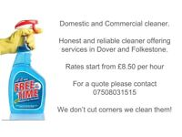 Domestic, household and office cleaner