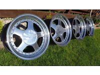 Keskin Kt1 16 4xJ9 4x100 ET15 BMW E30/21 VW Golf Jetta Mini